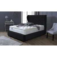 Oxford Black Victoria Double Bed Frame