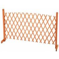 Arched Expanding Freestanding Wooden Trellis Fence Garden Screen - Oypla