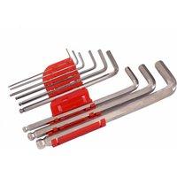 Oypla Set of 9 Hex Allen Wrench Repair Tool L Shape TRX Key