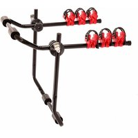 Universal 3 Bike Bicycle Hatchback Car Mount Rack Stand Carrier - Oypla