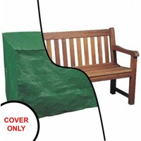 Waterproof 6ft 1.8m Garden Furniture 3 Seater Bench Seat Cover - Oypla