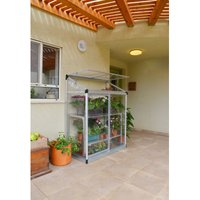 Palram Lean-to 4x2 Growhouse - Silver