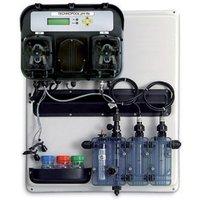 Aqua - Pannello preassemblato A-TECHNOPOOL SYSTEM per regolazione e controllo pH e Redox