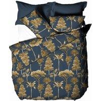 Arboretum Duvet Cover Set (Superking) (Blue) - Paoletti