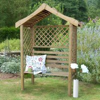 Forest Parisienne Garden Arbour Seat 5x2