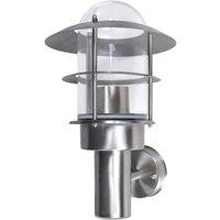 Patio Wall Light Lamp Stainless Steel - VIDAXL