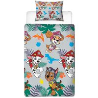 Dinosaur Duvet Cover Set (Single) (Multicoloured) - Paw Patrol