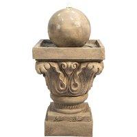 Outdoor Garden Patio Decor LED Water Fountain Feature VFD8405-UK - Peaktop