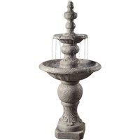 Outdoor Garden Patio Decor Tier Water Fountain Cascade Feature VFD8179-UK - Peaktop