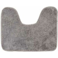 Toilet mat with cut-out Grey - Wenko