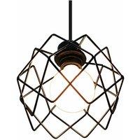 Pendant Lamp Iron Metal Pendant Light Industrial Retro Vintage Ceiling Lamp for Indoor Living Room Bedroom Kitchen Dining Room Restaurant E27 Base