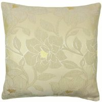Peony 18 Cream Cushion Cover Bed Sofa Accessory Unfilled