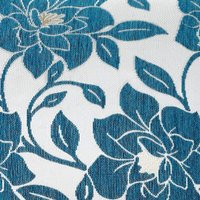Peony 18 Teal Cushion Cover Bed Sofa Accessory Unfilled