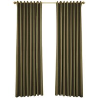 Blackout Curtains for Bedroom Grommet Insulated Room Curtains for Living Room, Set of 2 Panels (53*83in),model:Coffee 53W X 83L in