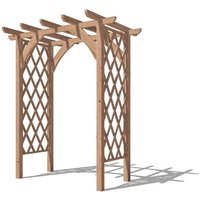 Pergola Jasmine - Lattice Trellis Arch Wooden Furniture
