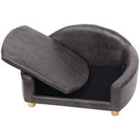 Pet Sofa Chair Dog Puppy Cat Kitten Soft PU Couch Sleep Bed Cushion House - LIVINGANDHOME