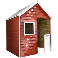 Petite cabane pré-monté en bois traité avec portillon 3 enfants - Maria - SOULET