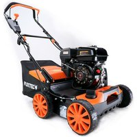 Petrol 3-in-1 scarifier aerator grass collector FUXTEC BV140