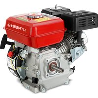Petrol Engine (5.5 HP / 4.1 kW, 20 mm Shaft, Low Oil Protection, Air-cooled Singel Cylinder 4-stroke Engine, Recoil Start) - EBERTH
