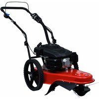 Petrol High Grass Mower with 173 cc Engine - Red