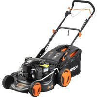 Petrol lawnmower Briggs and Stratton 140cc 475iS-Series InStart® Mow N Stow® FUXTEC RM46BS475iS
