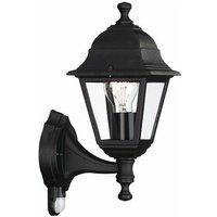 Massive LIMA Wall Lantern with PIR Black - 714220130 - Philips