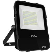 Floodlight 150W Atlas 4000K Cool White 110° 15600lm Floodlights Security External Outdoor High Powered Bright Car Park Weatherproof Light - Phoebe Led