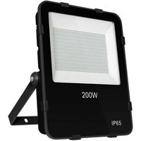 (1 Pack) Floodlight 200W Atlas 4000K Cool White 110° 20200lm Floodlights Security External Outdoor High Powered Brightest Car Park Weatherproof Light