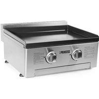 Plancha gaz Plaque de cuisson 2 brûleurs - Princess