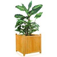 plant box flower trough flower pot garden wood planter