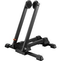 Asupermall - Plug-in Bike Parking Rack Portable Twin-pole Mountain Bike Support Frame Bike Display Frame Road Cycling Supplies,model:Black