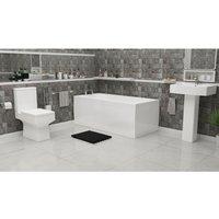 Hayden Complete Bathroom Suite - 1500mm x 700mm Single Ended Bath - Plumbers Choice