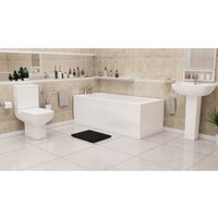 Plumbers Choice Stoner Complete Bathroom Suite - 1500mm x 700mm Single Ended Bath