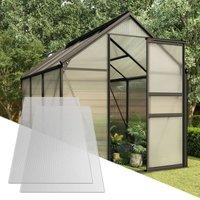 Polycarbonate Sheets 5 pcs 4.5 mm 150x65 cm - ZQYRLAR