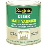 POMC5000 Polyurethane Varnish Matt Clear 5 Litre - Rustins