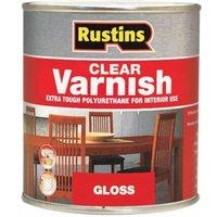 Rustins - Polyurethane Varnish Gloss Clear 2,5 Litre (RUSPVGC25L)