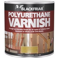 Polyurethane Varnish P99 Clear Gloss 1 Litre (BKFPCGV1L) - BLACKFRIAR