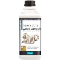 Polyvine - Dead Flat Heavy Duty Interior Wood Varnish - 1 LITRE