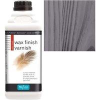 Wax Finish Varnish - Black - 1 LITRE - Polyvine