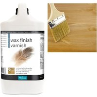 Wax Finish Varnish - Dead Flat - 4 LITRE - Polyvine