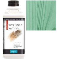 Wax Finish Varnish - Green - 1 LITRE - Polyvine