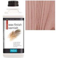 Wax Finish Varnish - Mahogany - 1 LITRE - Polyvine