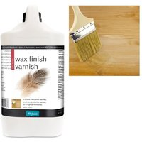 Wax Finish Varnish - Satin - 4 LITRE - Polyvine