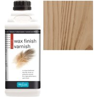 Wax Finish Varnish - Teak - 1 LITRE - Polyvine