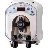 Aqua - Pompa dosatrice peristaltica SIMPOOL LIGHT PH per piscine fino a 200 m³