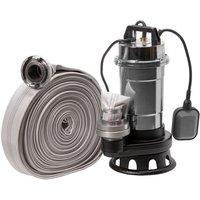 IBO - Pompe eaux chargées+broyeur Röhtenbach NITRO2850+20M 550W 230V tuyau 20m