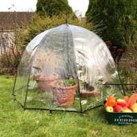 Pop n Crop Plant Umbrella Greenhouse and Bell Cloche