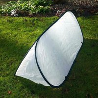 Gardenskill - Pop-Up Fleece Cloche and Frost Cover ? 1.25m long x 0.5m wide x 0.5m high (pack of 2)