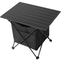 Bearsu - Portable Camping Table, Ultralight Aluminum Alloy Folding Table with Oxford Cloth Carry Bag for Picnic Beach BBQ Hiking Backyard Festival