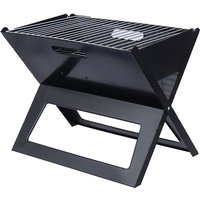 Portable Foldable Charcoal Barbecue Grill Stove Outdoor Garden Camping Picnic - MAEREX